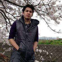 James looking someone in Omihachiman, Shiga-ken, Japan #7